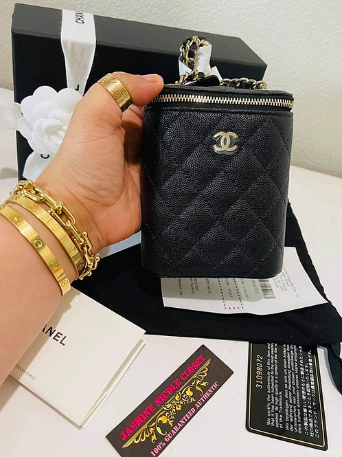 Brand New Chanel Vanity  black GHW