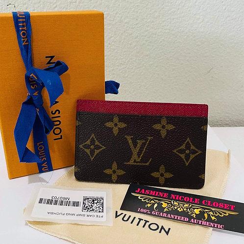 LV Card Holder Mono