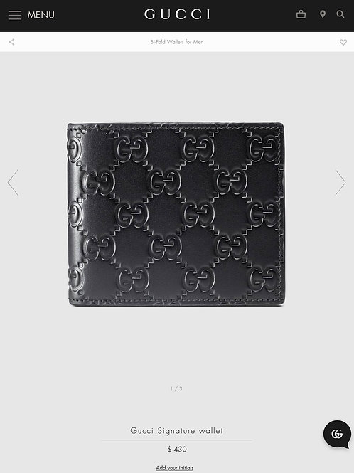 Brand New Gucci Mens Wallet