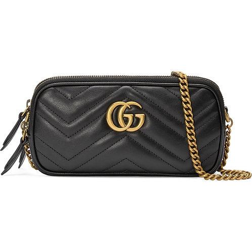 Brand New GUCCI Matelassé Leather Crossbody BAG