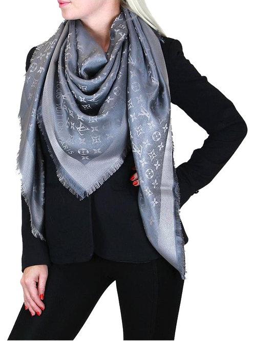 LV Shawl Shine Grey