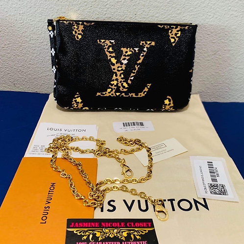 LV Double Zippy Crossbody Bag