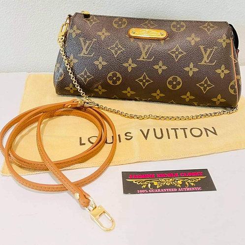 LV Eva Bag Mono with NON LV long strap