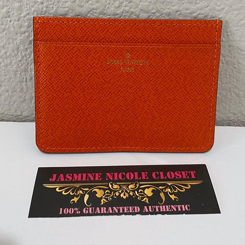 LV CARD HOLDER ORAGE