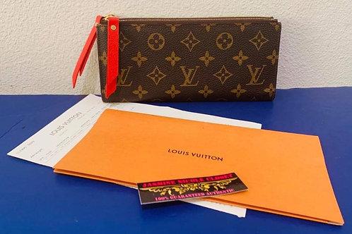 LV Adele Long Wallet