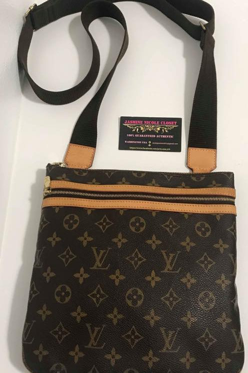Pre Owned Rare Authentic Bosphore Crossbody Bag