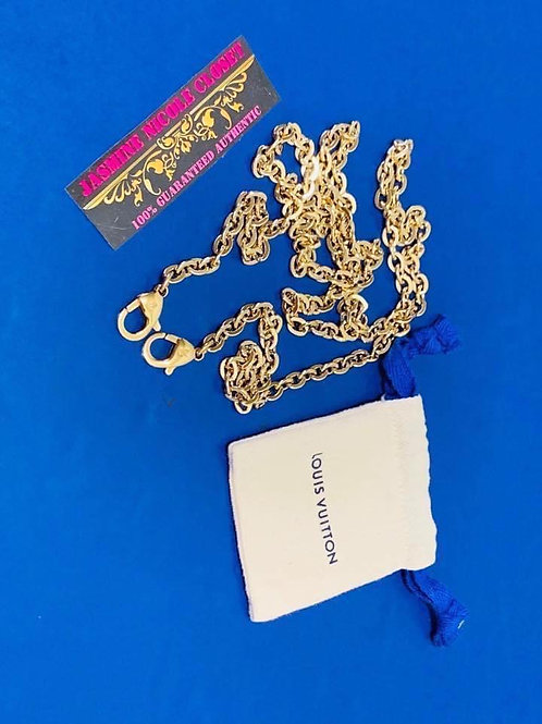 Brand New LV Long Strap Chain 46 inches