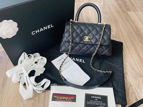 Brand New Chanel Coco Handle Mini  Size