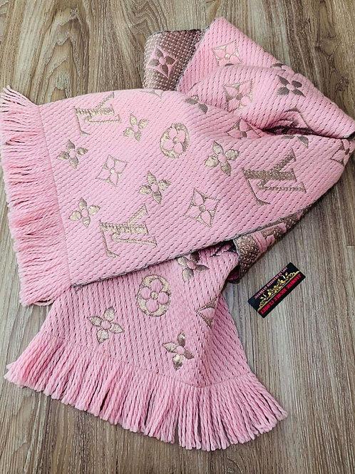 LV Pink Logomania Shine M70466