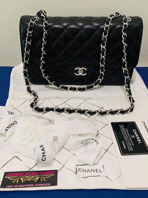 BRAND NEW CHANEL JUMBO DOUBLE FLAP BAG  SHW