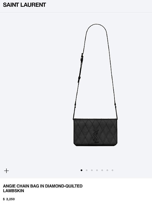 YSL Angie Crossbody Chain Bag