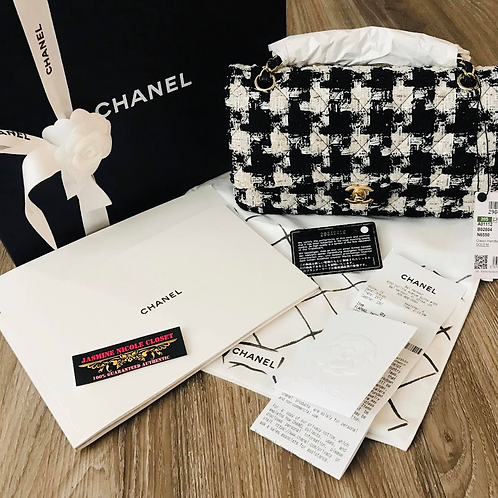 Brand New  Chanel Tweed Medium