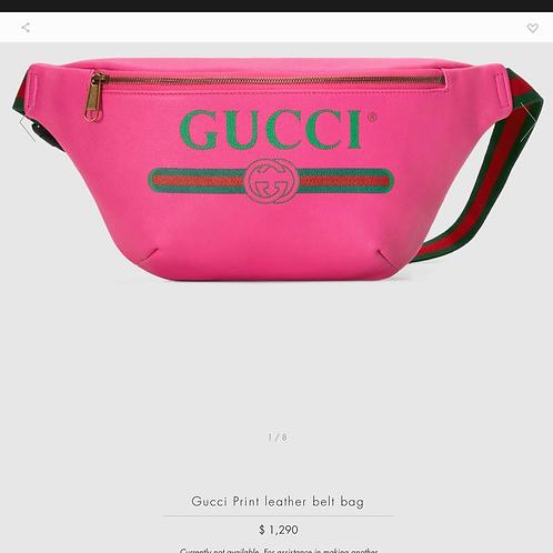 Brand New Gucci Bumbag Pink