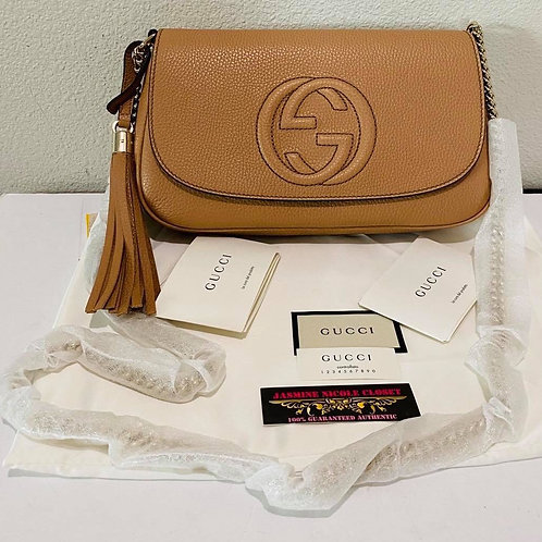 Brand New GUCCI Soho Cross Body Bag