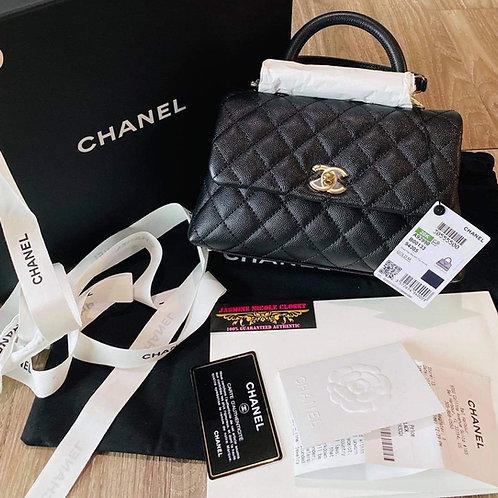 Brand New Chanel Mini Coco GHW