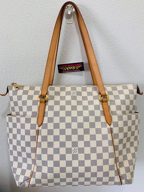 Authentic LV Totally MM Azur