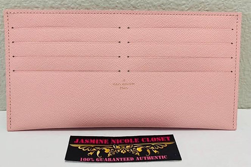LV Felicie Card Holder pink