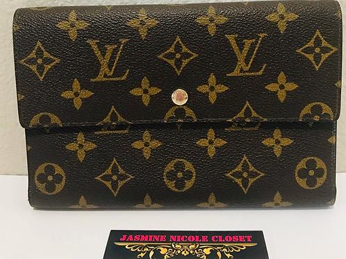 LV Passport Holder Wallet