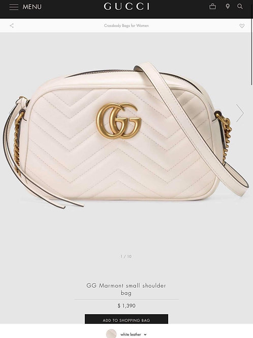 Brand New Gucci Marmont Small Crossbody