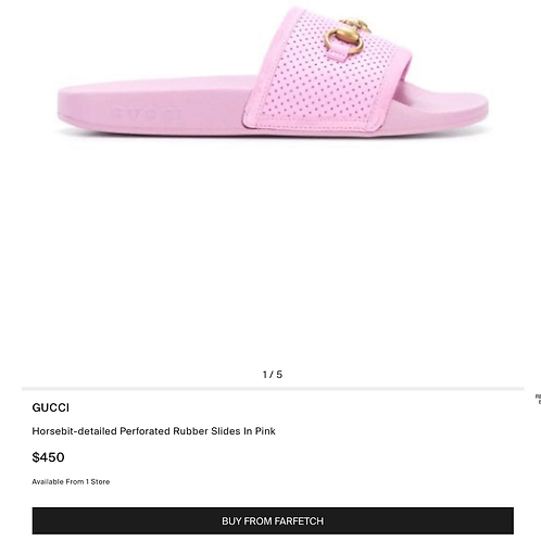 Brand New Gucci Sandals  Size 39