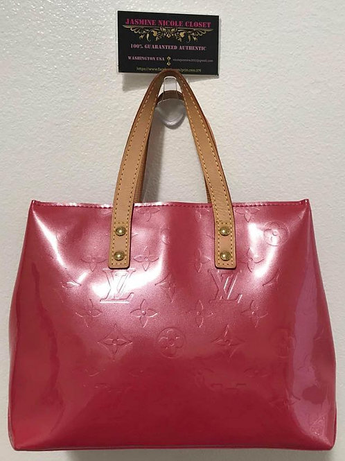 Excellent Used Condition Rare LV Framboise PM Hot Pink Vernis