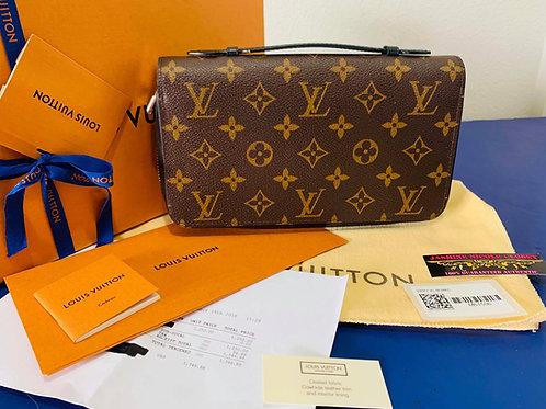 LV Macasscar Zippy XL Wallet