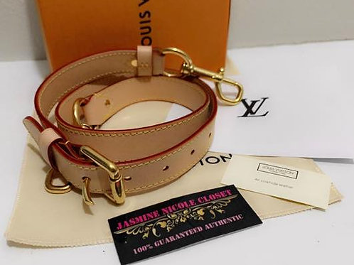 Excellent Condition Authentic LV Long Strap Vachetta 35-39 inches perfect for cr