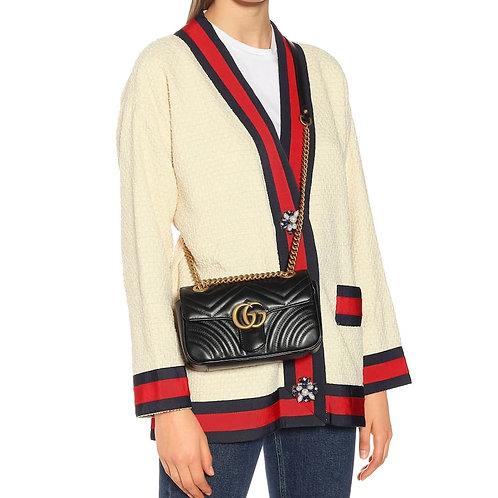 Brand New Gucci Marmont Mini Crossbody Bag