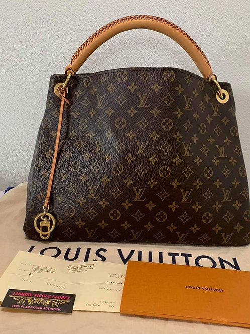 LV Artsy MM Shoulder Bag