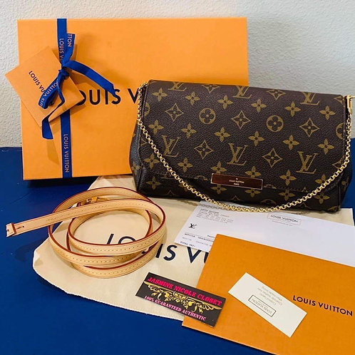 LV Favorite MM Mono Crossbody Bag