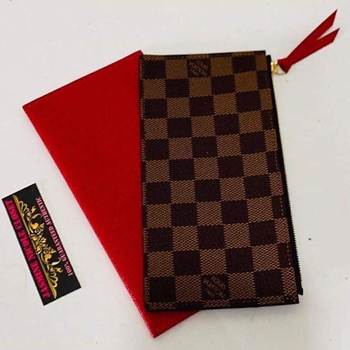 LV Red Card holder and Pouch