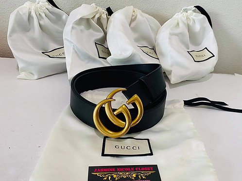 Brand New GUCCI Marmont Black Belt