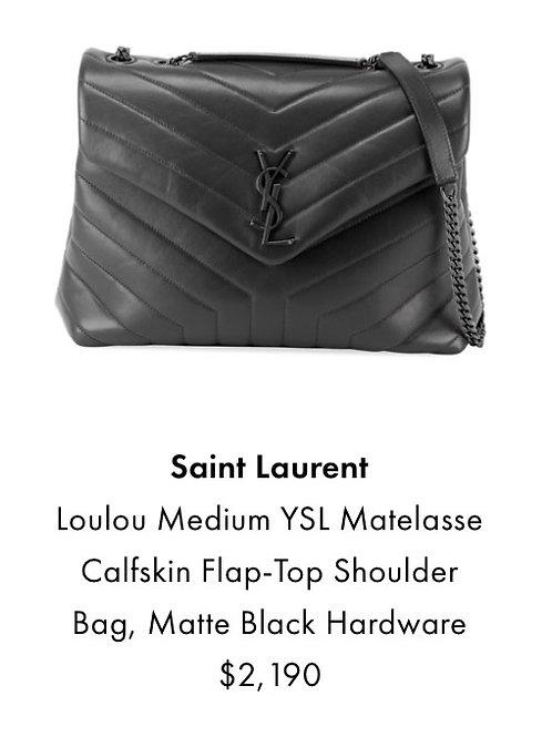 Brand New YSL Medium Loulou Cross Body Bag