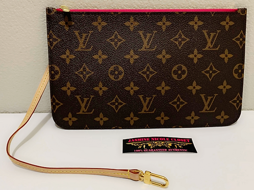LV Neverfull Pouch MM Mono