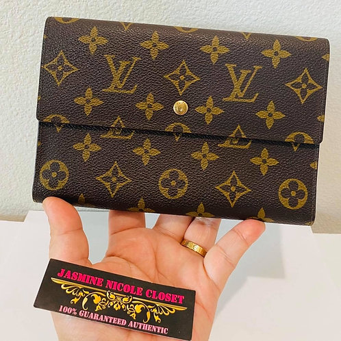 LV Clutch Wallet Passport Holder