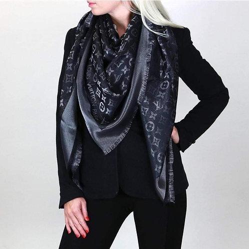 Brand New  LV SHINE Noir shawl