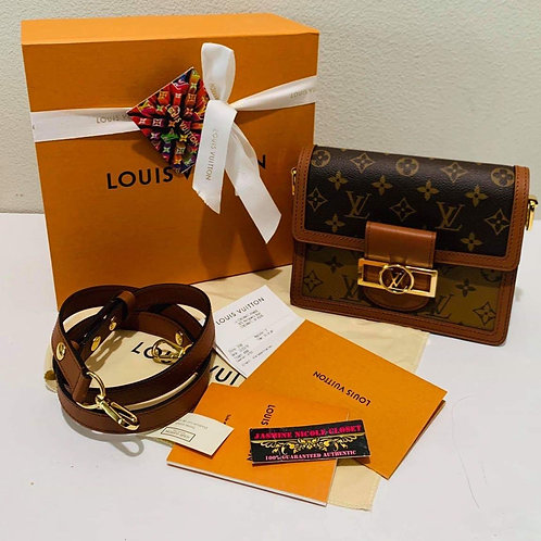 Brand New LV Dauphine Mini