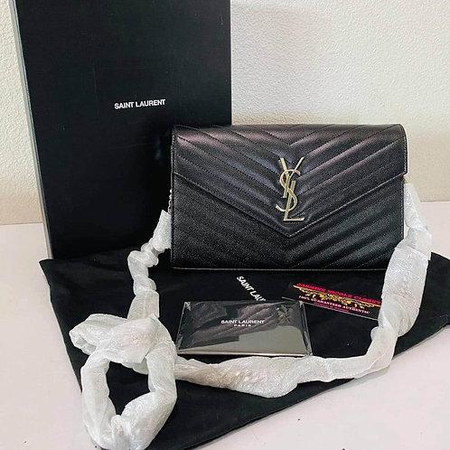 Brand New YSL WOC Crossbody Bag Balck