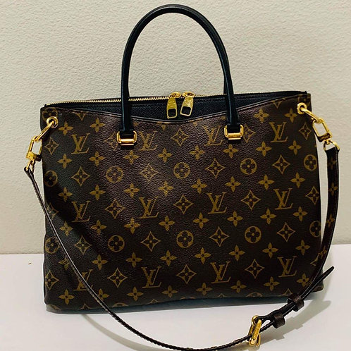 LV Pallas Noir Shoulder Bag sold