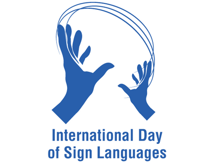 Happy International Day of Sign Language