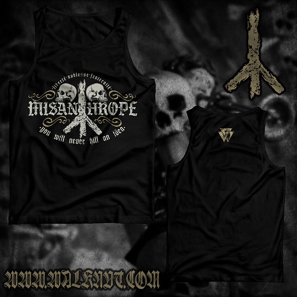 W03 - The «MISANTHROPE» T-shirt preview.