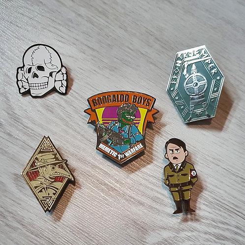 The «Walknvt» pins