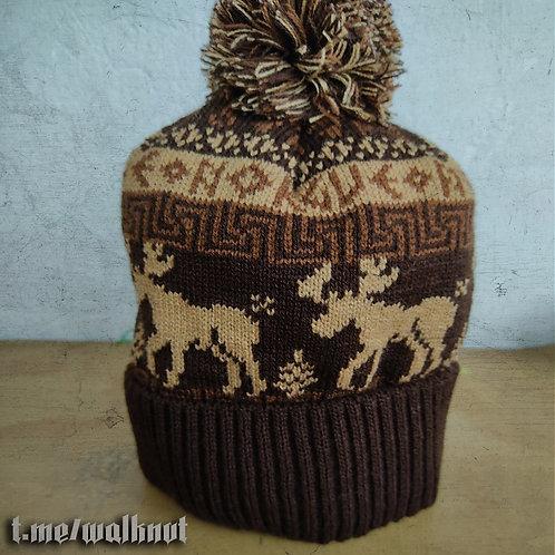 The «Northern Elk» winter hat