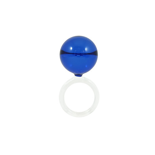 MoMA Dolce drops ring in cobalt blue