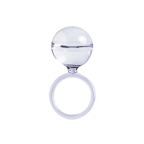 Dolce drop ring - Lavender