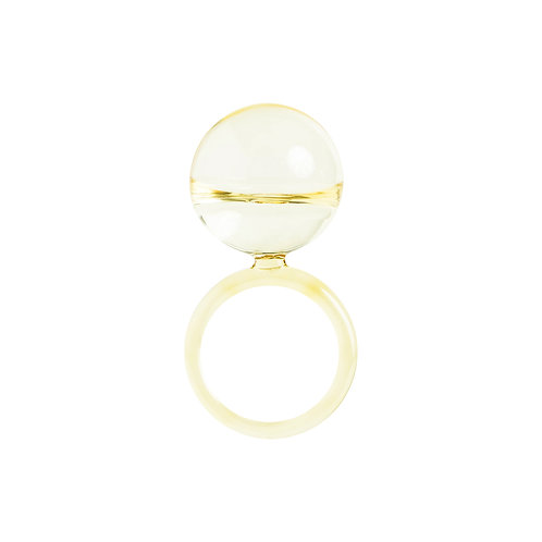 Dolce drop ring - Sunflower