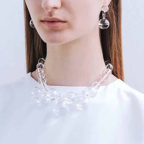 Statement droplet necklace