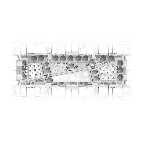 7. Greenwich Square Communal Podium Gard