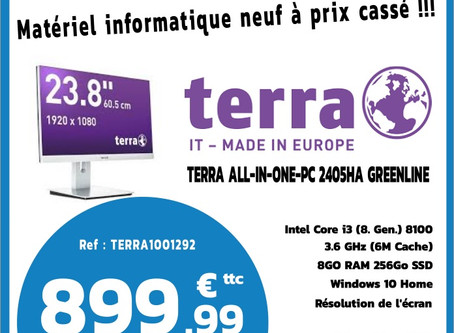 TERRA All-In-One-PC, design Mac à prix malin !