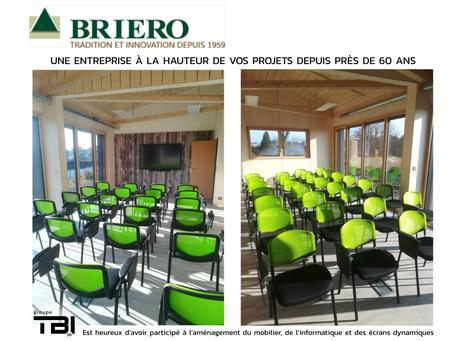 Nouveaux bureaux chez BRIERO !
